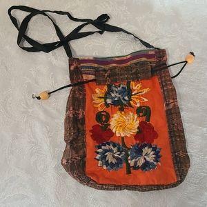 Embroidered Boho Crossbody Bag
